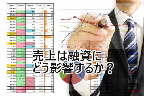 売上高から考える借入額の目安。売上は銀行融資にどう影響するか?